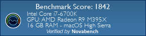 Novabench Score